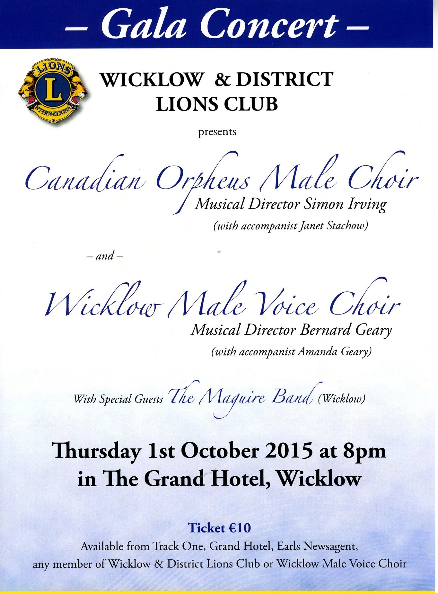 Lions Club Concert