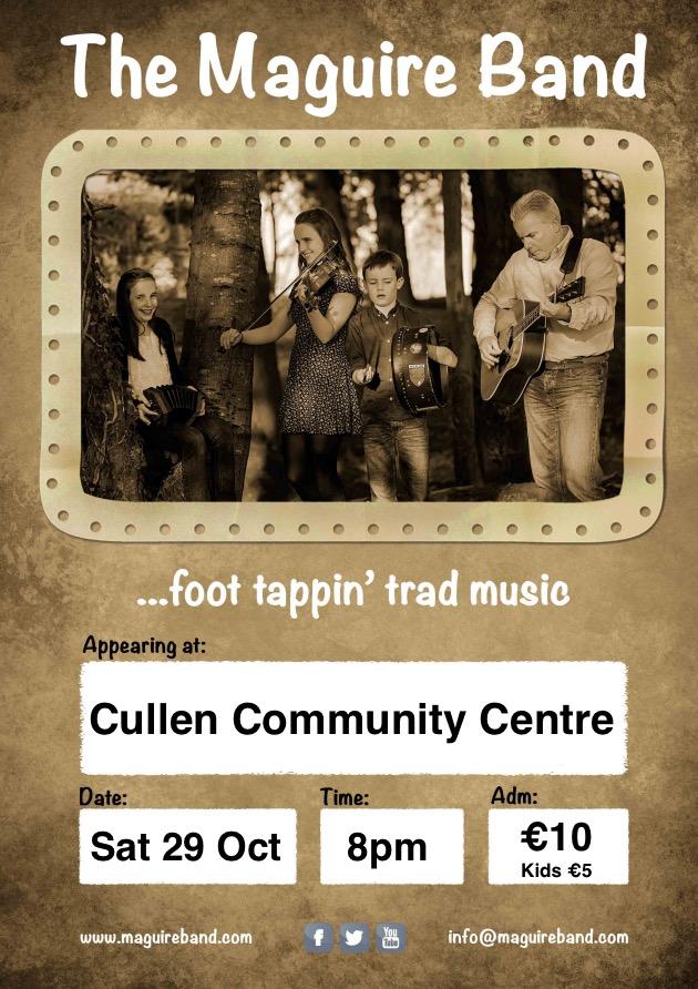 Cullen Community Centre Concert